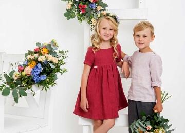 мальчик с девочкой детская фотосессия