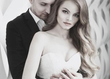 Свадебная фотосессия на текстурном фоне 2