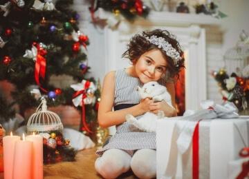 новогодняя фотосессия детская